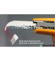 Olecranon Blade, Acrylic Hook Knife Blades 10pcs/1 parcel